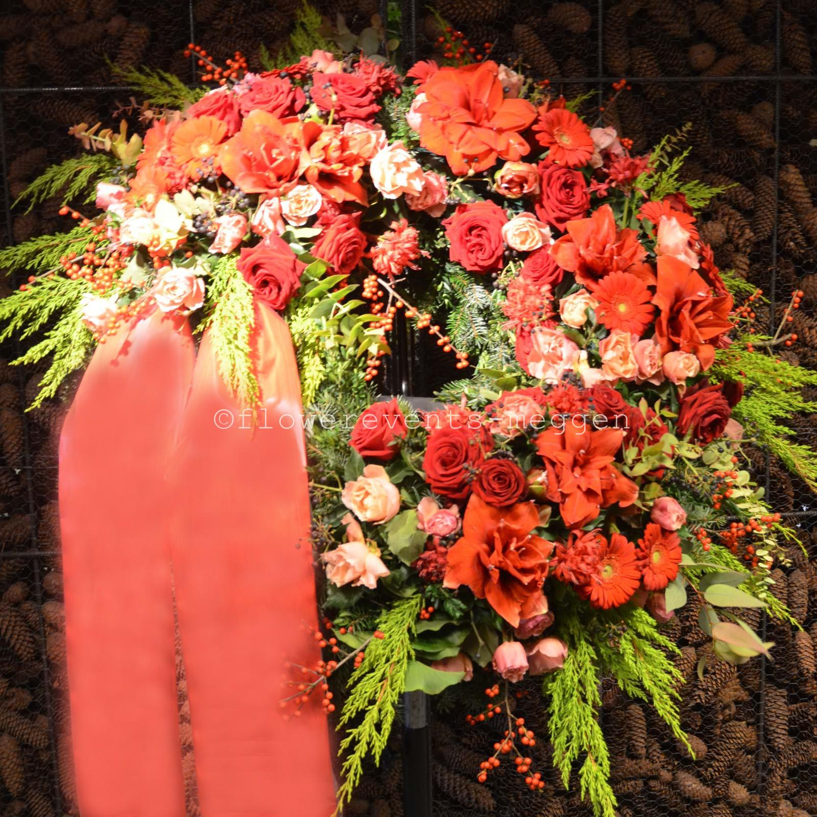 Order a funeral wreath online for lucerne meggen flower wreath in red izmirmasajfo